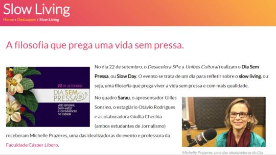Entrevista à Rádio Gazeta AM
