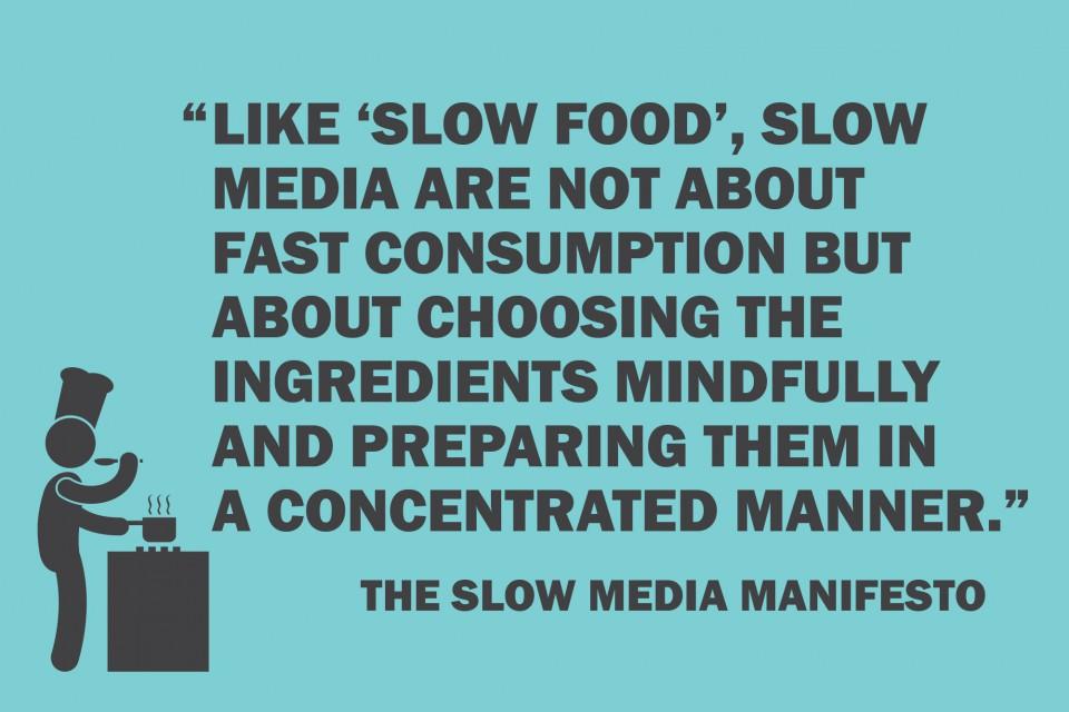 Manifesto Slow Media (em português)