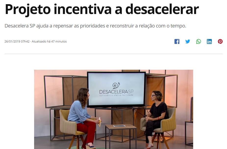 """Entrevista ao programa """"Como será?"""" (TV Globo)"""