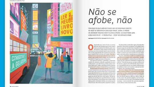 Desacelera SP na Revista Sorria